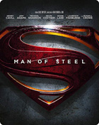 Man Of Steel 3D: Limited Edition (Blu-ray 3D-UK/Blu-ray-UK)(SteelBook)