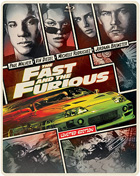 Fast And The Furious: Limited Edition (Blu-ray/DVD)(Steelbook)