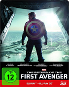Return Of The First Avenger: Limited Edition (Captain America: The Winter Soldier) (Blu-ray 3D-GR/Blu-ray-GR)(Steelbook)