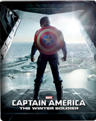 Captain America: The Winter Soldier (Blu-ray 3D/Blu-ray)(Steelbook)
