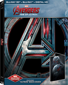 Avengers: Age Of Ultron 3D - Ultron: Limited Edition (Blu-ray 3D/Blu-ray)(SteelBook)