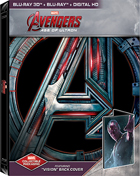 Avengers: Age Of Ultron 3D - Vision: Limited Edition (Blu-ray 3D/Blu-ray)(SteelBook)