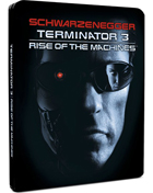 Terminator 3: Rise Of The Machines: Limited Edition (Blu-ray-UK)(SteelBook)
