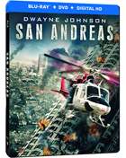 San Andreas: Limited Edition (Blu-ray/DVD)(SteelBook)
