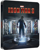 Iron Man 3: Lenticular Limited Edition (Blu-ray 3D-UK/Blu-ray-UK)(SteelBook)