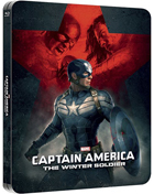 Captain America: The Winter Soldier: Lenticular Limited Edition (Blu-ray 3D-UK/Blu-ray-UK)(SteelBook)