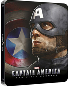 Captain America: The First Avenger: Lenticular Limited Edition (Blu-ray 3D-UK/Blu-ray-UK)(SteelBook)