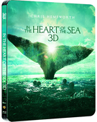 In The Heart Of The Sea: Limited Edition (Blu-ray 3D-GR/Blu-ray-GR)(SteelBook)