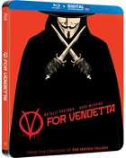 V For Vendetta: Limited Edition (Blu-ray-UK)(SteelBook)