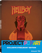 Hellboy: Limited Edition (Blu-ray-UK)(SteelBook)