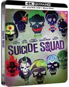 Suicide Squad: Extended Cut: Limited Edition (4K Ultra HD-IT/Blu-ray-IT)(SteelBook)