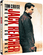 Jack Reacher: Never Go Back: Limited Edition (Blu-ray/DVD)(SteelBook)