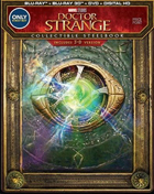 Doctor Strange: Limited Edition (2016)(Blu-ray 3D/Blu-ray/DVD)(SteelBook)