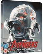 Avengers: Age Of Ultron 3D: Lenticular Limited Edition (Blu-ray 3D-UK/Blu-ray-UK)(SteelBook)