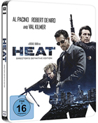Heat: Director's Definitive Edition: Limited Edition (Blu-ray-GR)(SteelBook)