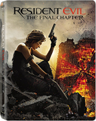 Resident Evil: The Final Chapter: Limited Edition (Blu-ray-UK)(SteelBook)