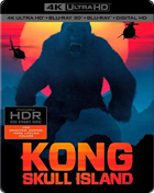 Kong: Skull Island: Limited Edition (4K Ultra HD/Blu-ray 3D/Blu-ray)(SteelBook)