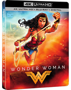 Wonder Woman: Limited Edition (2017)(4K Ultra HD/Blu-ray)(SteelBook)