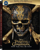 Pirates Of The Caribbean: Dead Men Tell No Tales: Limited Edition  (Blu-ray/DVD)(SteelBook)