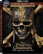 Pirates Of The Caribbean: Dead Men Tell No Tales: Limited Edition (4K Ultra HD/Blu-ray)(SteelBook)