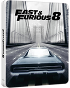 Fate Of The Furious (Fast & Furious 8): Limited Edition (Blu-ray-UK)(SteelBook)