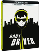 Baby Driver: Limited Edition (4K Ultra HD-SP/Blu-ray-SP)(SteelBook)