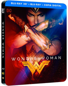 Wonder Woman: Limited Edition (2017)(Blu-ray 3D-SP/Blu-ray-SP)(SteelBook)