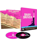 Baby Driver: Limited Edition (Blu-ray-FR/CD)(SteelBook)