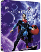 Man Of Steel: Limited Edition (Blu-ray-IT)(SteelBook)