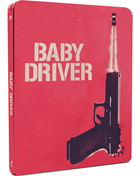 Baby Driver: Limited Edition (Blu-ray-UK)(SteelBook)
