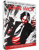 John Wick 2-Film Collection: Limited Edition (4K Ultra HD/Blu-ray)(SteelBook): John Wick / John Wick: Chapter 2