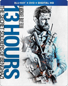 13 Hours: The Secret Soldiers Of Benghazi (Blu-ray/DVD)(SteelBook)