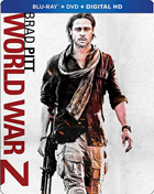 World War Z (Blu-ray/DVD)(SteelBook)