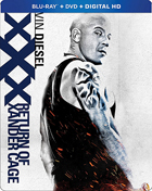 xXx: Return Of Xander Cage (Blu-ray/DVD)(SteelBook)