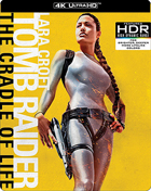 Lara Croft: Tomb Raider: The Cradle Of Life: Limited Edition (4K Ultra HD/Blu-ray)(SteelBook)