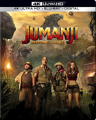 Jumanji: Welcome To The Jungle: Limited Edition (4K Ultra HD/Blu-ray)(SteelBook)