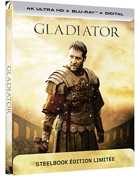 Gladiator (4K Ultra HD-FR/Blu-ray-FR)(SteelBook)
