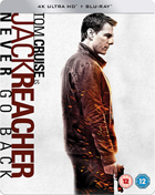 Jack Reacher: Never Go Back: Limited Edition (4K Ultra HD-UK/Blu-ray-UK)(SteelBook)