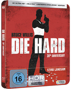 Die Hard: 30th Anniversary Edition (4K Ultra HD-GR/Blu-ray-GR)(SteelBook)