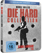 Die Hard Collection: Limited Edition (Blu-ray-GR)(SteelBook): Die Hard / Die Harder / Die Hard With A Vengeance / Live Free Or Die Hard / A Good Day To Die Hard