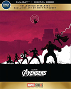 Avengers: Age Of Ultron: Limited Edition (Blu-ray)(SteelBook)