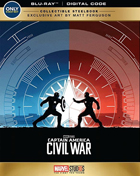 Captain America: Civil War: Limited Edition (Blu-ray)(SteelBook)