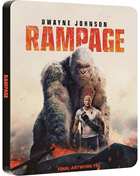 Rampage: Limited Edition (2018)(Blu-ray/DVD)(SteelBook)