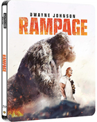 Rampage: Limited Edition (2018)(4K Ultra HD/Blu-ray)(SteelBook)