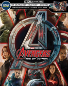 Avengers: Age Of Ultron: Limited Edition (4K Ultra HD/Blu-ray)(SteelBook)