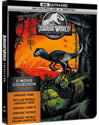 Jurassic World: 5-Movie Collection: Limited Edition (4K Ultra HD)(SteelBook): Jurassic Park / The Lost World: Jurassic Park / Jurassic Park III / Jurassic World / Fallen Kingdom