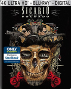 Sicario: Day Of The Soldado: Limited Edition (4K Ultra HD/Blu-ray)(SteelBook)