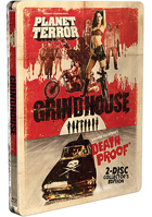 Grindhouse: 2-Disc Collector's Limited Edition (Blu-ray)(SteelBook): Death Proof / Planet Terror