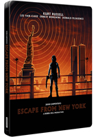 Escape From New York: Limited Edition (4K Ultra HD-UK/Blu-ray-UK)(SteelBook)