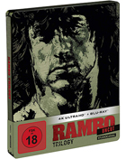 Rambo Trilogy: Limited Edition (4K Ultra HD-GR/Blu-ray-GR)(SteelBook): Rambo: First Blood / Rambo: First Blood 2 / Rambo III